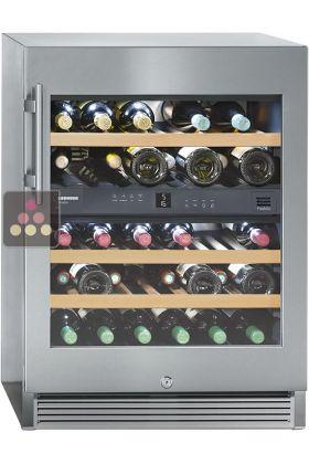 cave vin multi usages 2 temp ratures de conservation et. Black Bedroom Furniture Sets. Home Design Ideas