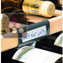 Lot de 5 clips étiquettes pour clayette en bois ACI-LIE492