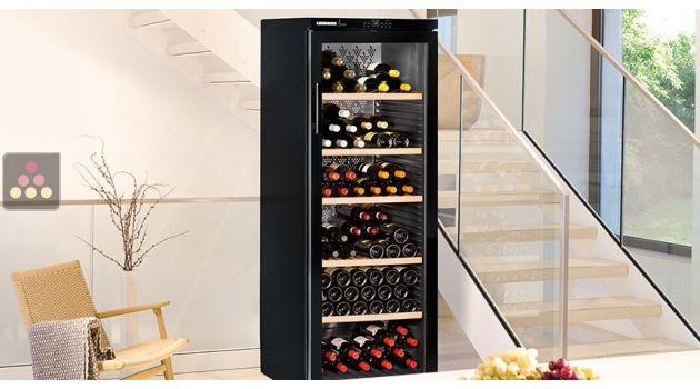 6% de réduction : cave à vin multi-températures de service et de