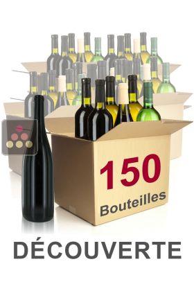 150 bouteilles de vin s lection mathieu vial d couverte vins blancs vins - Cave a vin 150 bouteilles ...