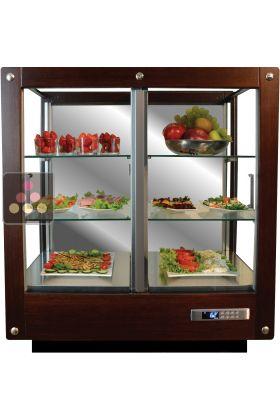 vitrine 3 faces r frig r e pour plats et produits frais. Black Bedroom Furniture Sets. Home Design Ideas