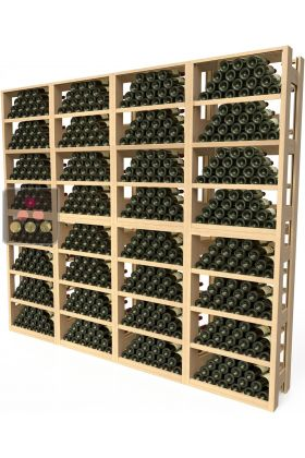 meubles de rangement en bois pour 576 bouteilles visiorack aci vis851 ma cave vin. Black Bedroom Furniture Sets. Home Design Ideas