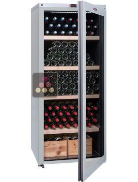 Cave vin multi temp ratures de service et de conservation la sommeliere ac - Temperature cave a vin conservation ...