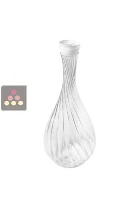 Carafe Spirale avec Bouchon Corolle
