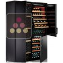 Combination of 3 single-temperature wine cabinets for ageing or service ACI-CAL115