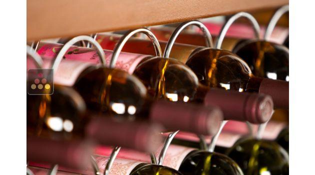 mur de 60 bouteilles de 75cl en position horizontale enoofficina aci eof300 ma cave vin. Black Bedroom Furniture Sets. Home Design Ideas
