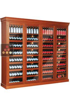 cave vin 2 temp ratures de conservation et ou de service ellemme aci elm136 ma cave vin. Black Bedroom Furniture Sets. Home Design Ideas