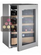 Cave à vin Mono-Température de conservation ou de service des vins et des chocolats ACI-LIE130