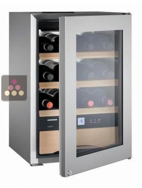 Cave vin mono temp rature de conservation ou de service des vins et des cho - Temperature cave a vin conservation ...