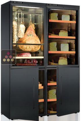 combin de 2 caves charcuteries et 2 caves fromages. Black Bedroom Furniture Sets. Home Design Ideas