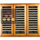 Combined 3 Single temperature wine service & storage cabinets ACI-CAL442TC
