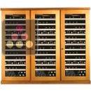 Combiné de 3 caves à vin mono-température de conservation et de service ACI-CAL442TC