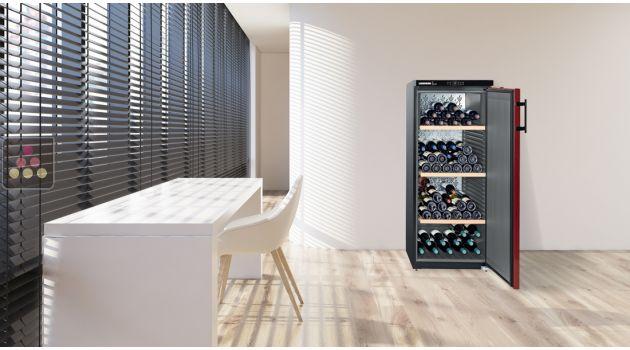 5 de r duction cave vin mono temp rature de vieillissement et de conservation liebherr aci. Black Bedroom Furniture Sets. Home Design Ideas