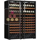 Combination of 2 single temperature wine ageing or service cabinet  ACI-TRT710NP2