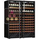 Combiné de 2 caves à vin Mono-Température de conservation ou de service ACI-TRT710NP