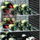 Lot de 2 Clayettes en acier chromé/ empreinte (sans rebord bois) pour Gamme Vinothek ACI-LIE680