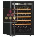 Combiné de 2 caves à vin Mono-Température de vieillissement et/ou de service ACI-TRT704NC
