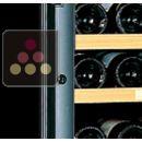Serrure de remplacement de cave à vin avec porte vitrée en couleur ACI-TRT405
