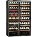 Combiné de 2 caves à vin mono-température de service ou de conservation ACI-CAL220P
