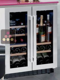 cave vin de service 2 tempratures encastrable avintage - Cave A Vin Encastrable Ikea