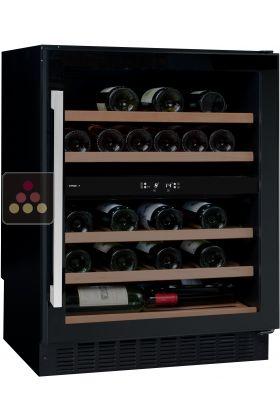 cave vin multi usages 2 temp ratures de conservation et ou de service avintage aci avi582. Black Bedroom Furniture Sets. Home Design Ideas
