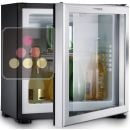 Built in mini-bar with glass door - 20L - Right hinged ACI-DOM341D