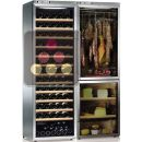 Combination of a single temperature wine cabinet, a cheese cabinet and a delicatessen cabinet ACI-CAL777TC