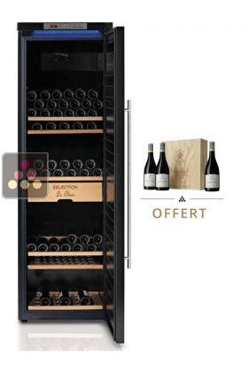 cave vin mono temp rature de vieillissement avec contr le de l 39 hygrom trie le chai aci cha571. Black Bedroom Furniture Sets. Home Design Ideas