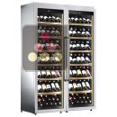 Combined 2 Single temperature wine service & storage cabinets ACI-CAL320P