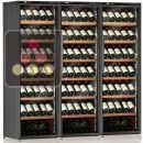 Combination of 3 Single temperature wine service or storage cabinets ACI-CAL224P