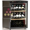 Dual temperature wine cabinet for service and storage ACI-CAL201P
