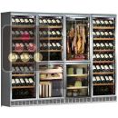 Gourmet combination: wine, cold meat, cheese and cigars ACI-CLC784E