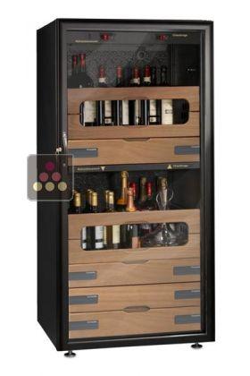 ancien mod le cave vin 2 temp ratures de service vinosafe ma cave vin. Black Bedroom Furniture Sets. Home Design Ideas