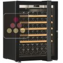 Single temperature wine ageing or service cabinet - Full Glass door - Left Hinges - Left Hinges ACI-TRT604FCG