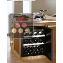 Single temperature built in wine cabinet for ageing or service ACI-TRT300I