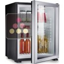 Built in mini-bar with glass door - 40L ACI-DOM334