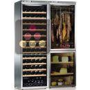 Combination of a multi-temperature wine cabinet, a cheese cabinet and a delicatessen cabinet - Pose libre ACI-CLC775TC